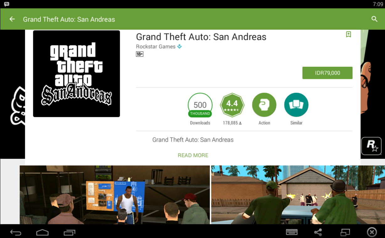 Cara Download Game Android GTA San Andreas