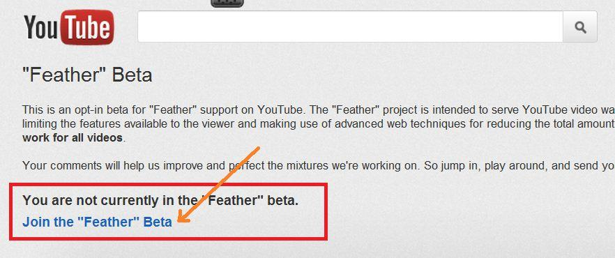 Cara Mempercepat Buffering Video Youtube dengan Feather Beta