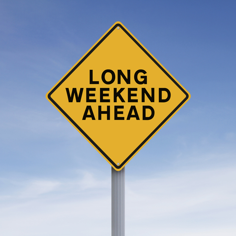 ahead long weekend