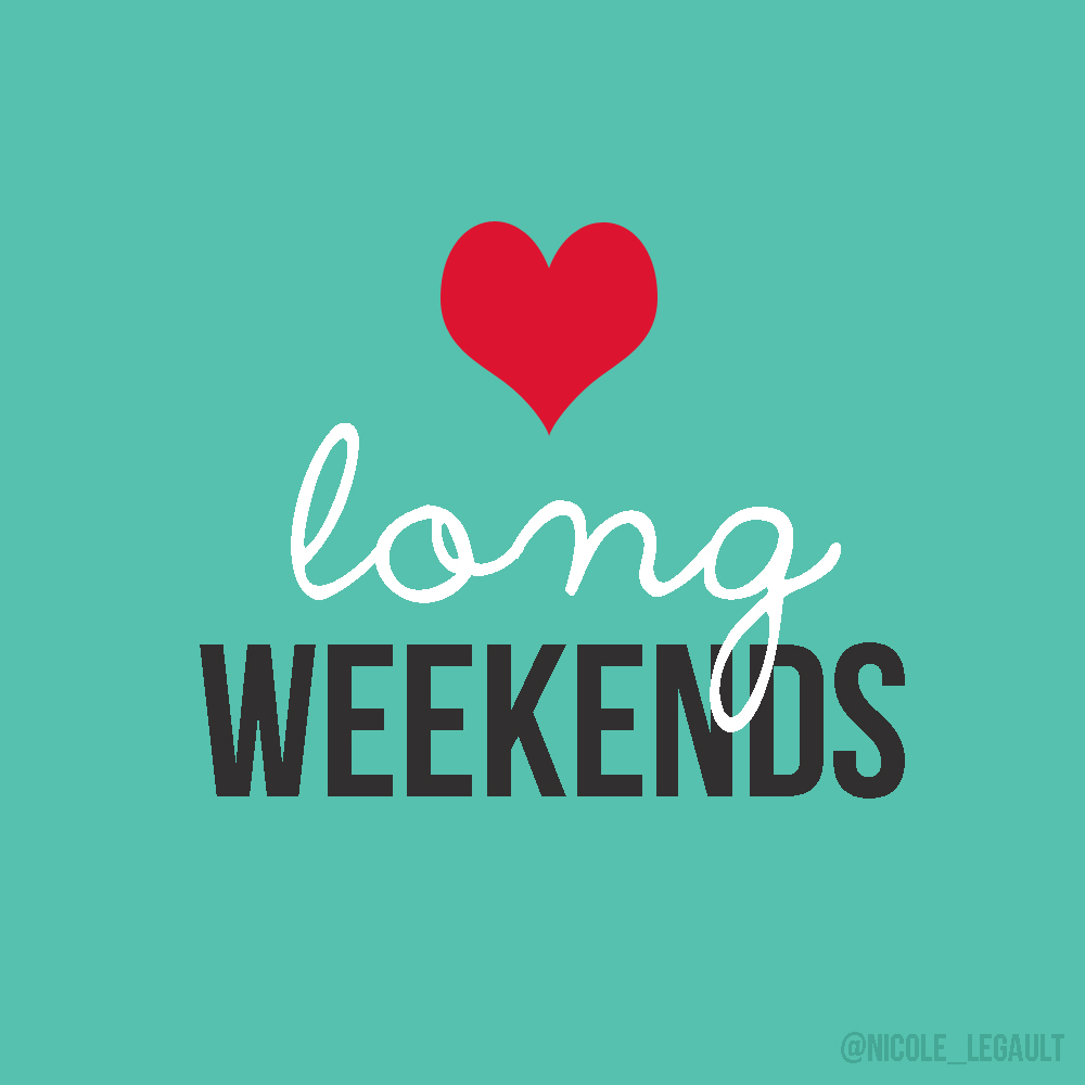 love long weekend