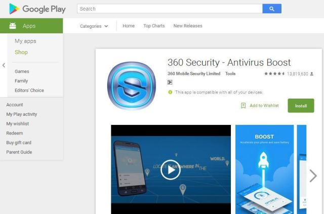 aplikasi cleaner android gratis 360 security