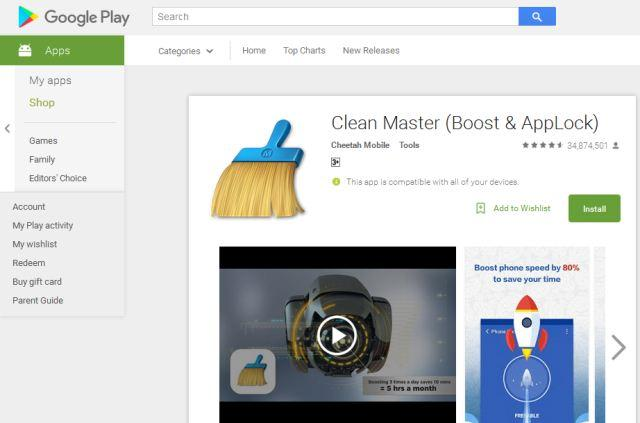aplikasi cleaner android gratis clean master