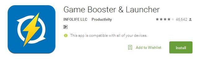 Aplikasi Game Booster Android -Game Booster & Launcher