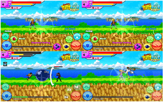 Rekomendasi 5 APK Game Android One Piece Terbaik - luffy eastblue pirate