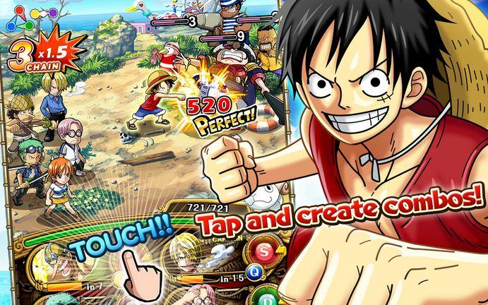 daftar apk game android one piece terbaru dan terbaik - ONE PIECE TREASURE CRUISE