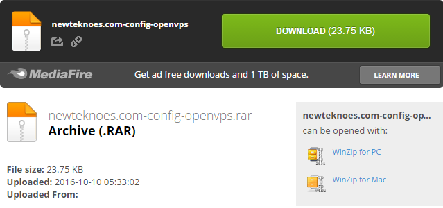 download-config-openvpn