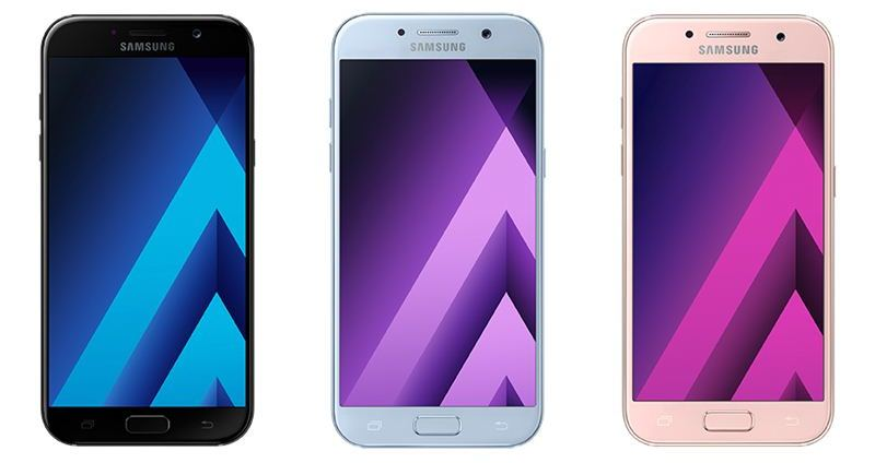 Harga Samsung Galaxy A 2017 Series, Android Anti Air Murah Terbaru