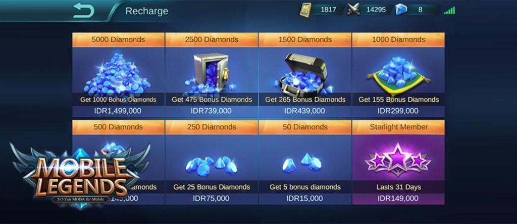 Tips Cara Beli Diamonds Mobile Legends Pakai Pulsa Terbaru