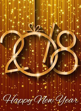 1wallpaper Wallpaper Android Happy New Year 2018 Keren Terbaru 43