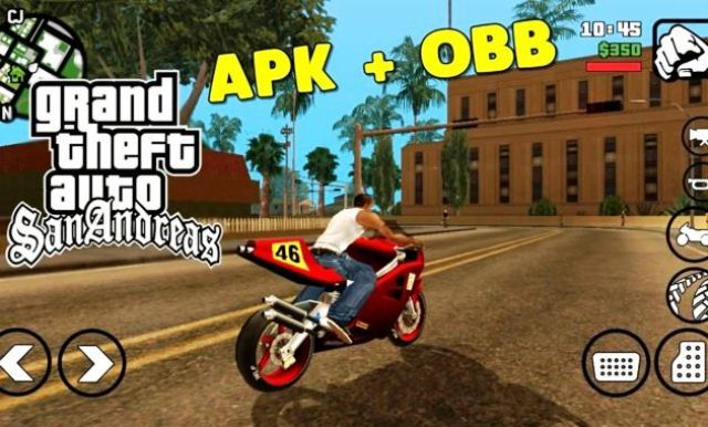 Download GTA SA Lite v9 Android Apk Data OBB Ringan Terbaru 2018